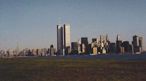 world trade center, 1980s