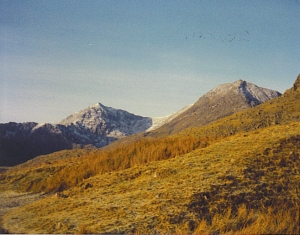 Snowdon Mountain Pen-y-Pass North Wales Jan, 1987
